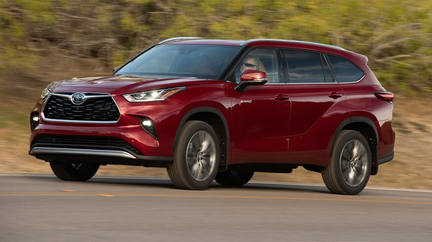2020 toyota highlander hybrid review: why it now makes